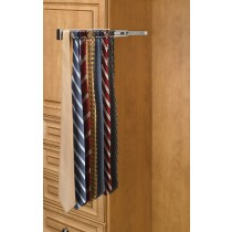 "14"" Tie Rack (Satin Nickel)"