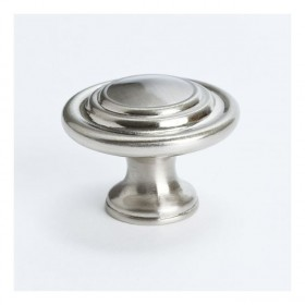 Knob (Brushed Nickel) - 1-5/16""