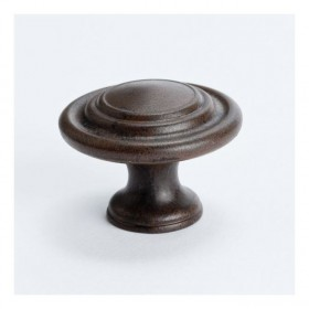 Advantage Plus Knob (Rust Glaze) - 1-5/16""