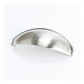 Cup Pull (Brushed Nickel) - 64mm