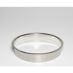 """Stainless Steel Trash Ring, Heavy Duty, 10"""" x 2"""""""