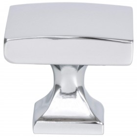Century Edge Knob (Polished Chrome) - 1 3/8""