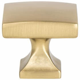Century Edge Knob (Modern Brushed Gold) - 1 3/8""