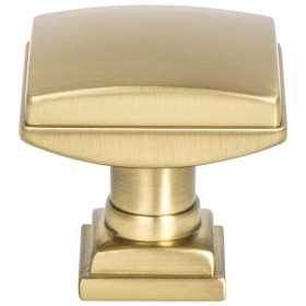 Tailored Traditional Knob (Modern Brushed Gold) - 1 1/4""