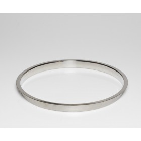 """Stainless Steel Trash Ring, Heavy Duty, 12"""" x 1"""""""