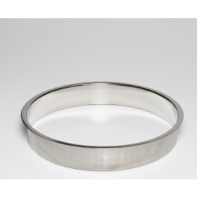 """Stainless Steel Trash Ring, Heavy Duty, 12"""" x 2"""""""