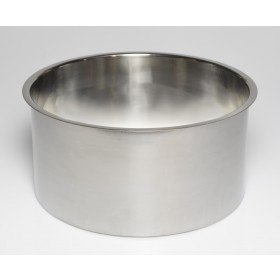 """Stainless Steel Trash Ring, Heavy Duty, 12"""" x 6"""""""
