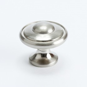 Knob (Brushed Nickel) - 1 3/16""