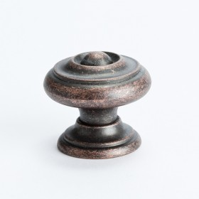 Euro Rustica Knob (Rustic Copper) - 30mm