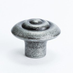 Rhapsody Knob w/Ring (Weathered Iron) - 1 1/8""