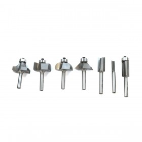 "7 pc. Basic Router Bit Set (1/4"" Shank)"