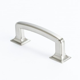 Hearthstone Pull (Brushed Nickel) - 3""