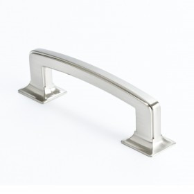 Hearthstone Pull (Brushed Nickel) - 96mm
