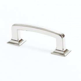 Designer Group 10 Pull (Polished Nickel) - 3""