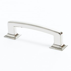 Designer Group 10 Pull (Polished Nickel) - 96mm