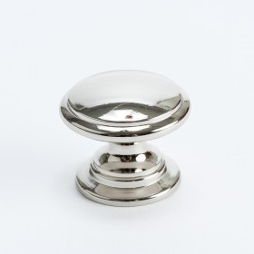 Designer Group 10 Knob (Polished Nickel) - 1 1/4""