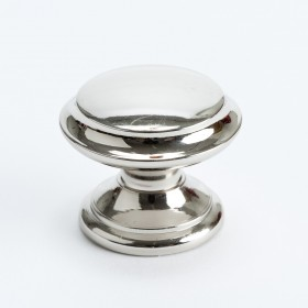 Designer Group 10 Knob (Polished Nickel w/Outer Ring) - 35mm