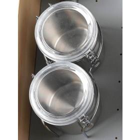 Canister Holder for Drawer Peg System