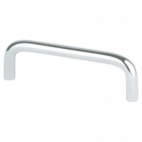 Zurich Wire Pull (Polished Chrome) - 3 1/2""