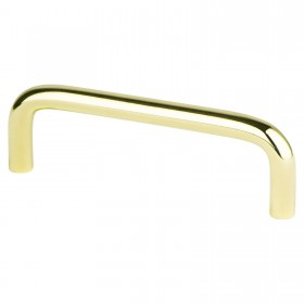Zurich Wire Pull (Polished Brass) - 3 1/2""