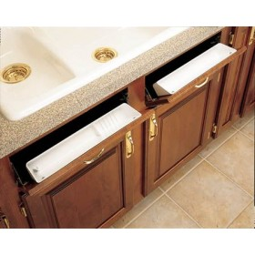 """11"""" Tip Out Accessory Tray (White)"""