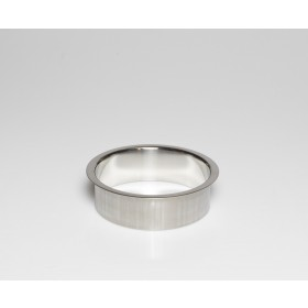"""Stainless Steel Trash Ring, Heavy Duty, 6"""" x 2"""""""