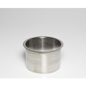 """Stainless Steel Trash Ring, Heavy Duty, 6"""" x 4"""""""