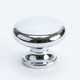 Valencia Knob (Polished Chrome) - 1 3/8""