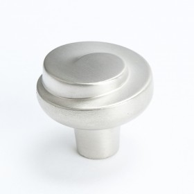 Sonata Spiral Knob (Brushed Nickel) - 30mm