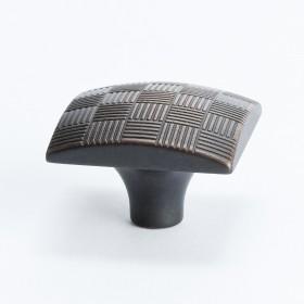 Virtuoso Square Knob (Rubbed Bronze) - 29mm