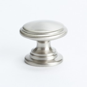 Andante Knob (Brushed Nickel) - 1 3/16""