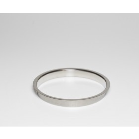 """Stainless Steel Trash Ring, Heavy Duty, 8"""" x 1"""""""