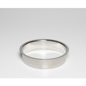 """Stainless Steel Trash Ring, Heavy Duty, 8"""" x 2"""""""