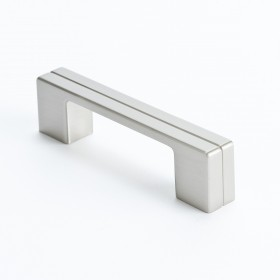 "Skyline Pull (Brushed Nickel) - 3"" or 96mm"