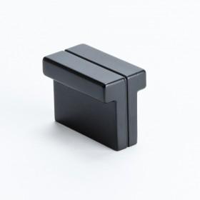 """Skyline Knob (Matte Black) - 1-3/8"""" x 3/4"""""""