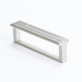 Oak Park Pull (Brushed Nickel) - 96mm