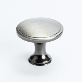 Oasis Knob (Brushed Tin) - 1-1/4""