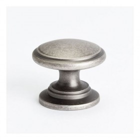 Knob (Weathered Nickel) - 1-3/16""