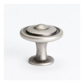 Advantage Plus Knob (Weathered Nickel) - 1-1/4""