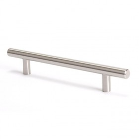 Advantage Plus Brushed Nickel Pull - 128mm