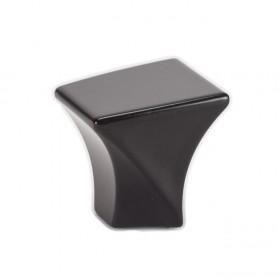 "Fluidic Knob (Black) - 1-1/8"""