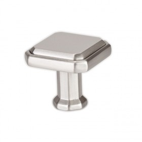 Knob (Brushed Nickel) - 1-3/16""