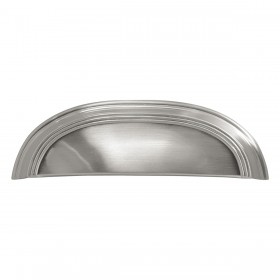 "American Diner Cup Pull (Satin Nickel) - 3"" & 96mm"