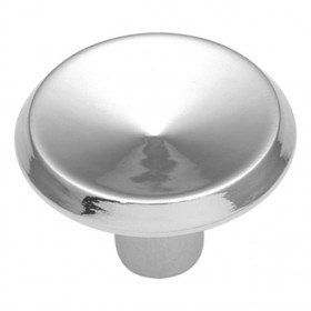 Metropolis Knob (Polished Chrome) - 1 1/16""
