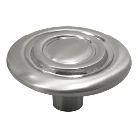 Cavalier Knob (Satin Nickel) - 1-3/8""
