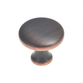 """Conquest Knob (Oil Rubbed Bronze Highlighted) - 1-1/8"""""""