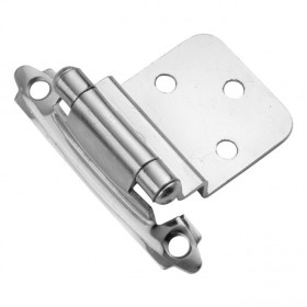 "Self Closing Hinge (Chrome) - 3/8"" Offset"