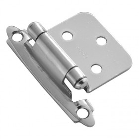 Flush Self Closing Hinge (Chrome)