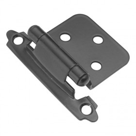 Flush Self Closing Hinge (Black)