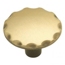 """Cavalier Knob (Antique Brass) - 1 1/8"""""""